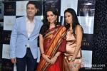 Sunil And Kiran Datwani At Shaina NC's new jewellery line launch at Gehna