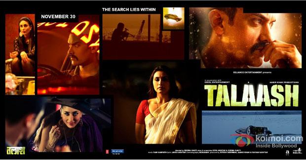 Talaash Movie Poster Wallpaper