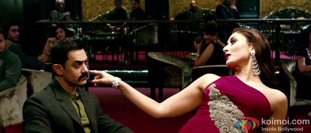 Aamir Khan and Kareena Kapoor in a still from Talaash Movie