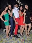 Teejay Sidhu And Karan Veer Borha at Raell Padamsee's Christmas bash Pic 1