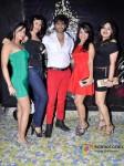 Teejay Sidhu And Karan Veer Borha at Raell Padamsee's Christmas bash Pic 2