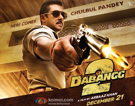 Dabangg 2 Poster Wallpaper