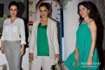 Tisca Chopra, Simone Singh And Perizaad Zorabian at Sanjay Chopra's book launch