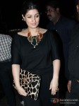 Twinkle Khanna at Sunny and Anu Dewan's Christmas Party in Mumbai