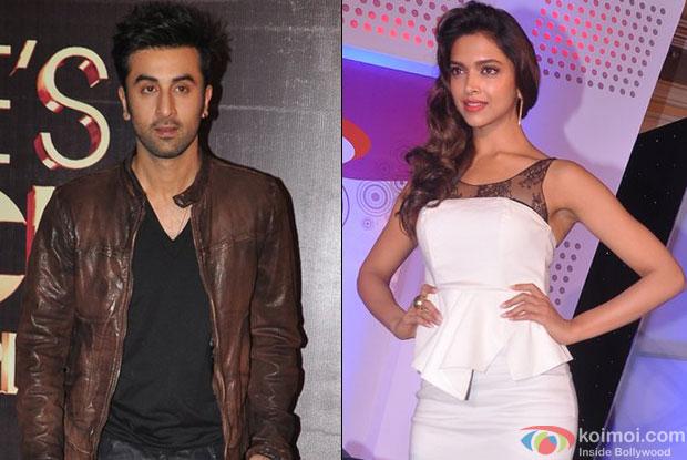 Ranbir Kapoor and Deepika Padukone for Yeh Jawani Hai Deewani Movie