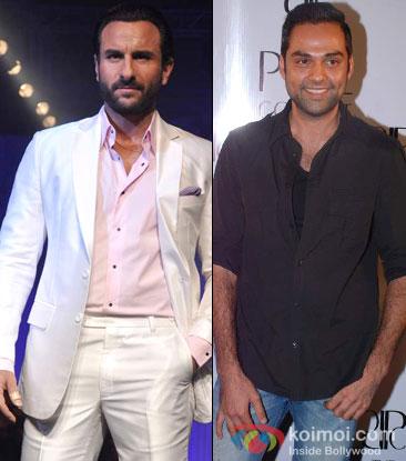 Saif Ali Khan and Abhay Deol