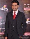 Abhishek Bachchan at Colors Screen Awards 2013