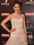 Aditi Rao Hydari at Colors Screen Awards 2013