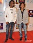 Ajay Gogavale and Atul Gogavale at Zee Cine Awards 2013