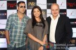 Akshay Kumar, Kajal Aggarwal, Anupam Kher At Press Meet of 'Special Chabbis' in New Delhi