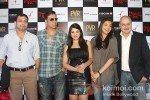 Neeraj Pandey Akshay Kumar, Kajal Aggarwal,Anupam Kher At Press Meet of 'Special Chabbis' in New Delhi Pic 2