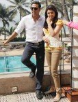 Akshay Kumar And Kajal Aggarwal at Special Chabbis (26)' Promotion Pic 2