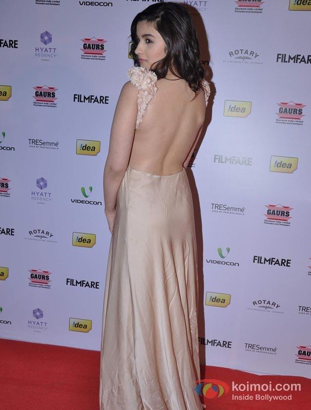 Alia Bhatt At 58th Filmfare Awards Nominations Party | Koimoi