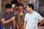 Amit Sadh, Sushant Singh Rajput and Raj Kumar Yadav in Kai Po Che Movie Stills