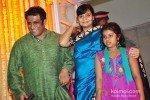 Anurag Basu with wife Tani Basu and daughter At Udita Goswami Mohit Suri's Wedding Ceremony