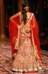 Chitrangada Singh walks on the ramp at the Aamby Valley India Bridal Fashion Week 2013