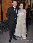 Dia Mirza At Walk The Red Carpet Of Filmfare Awards 2013