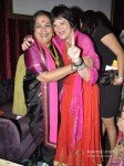 Eve Ensler And Usha Uthup at 'Vagina Monologues' Charity Dinner