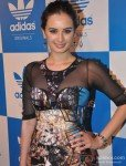 Evelyn Sharma at a party hosted for him by Adidas Originals