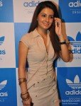 Geeta Basra at a party hosted for him by Adidas Originals