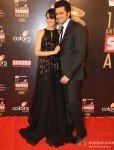 Genelia D'souza Deshmukh And Ritesh Deshmukh at Colors Screen Awards 2013