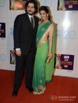 Goldie Behl with his Wife Sonali Bendre at Zee Cine Awards 2013
