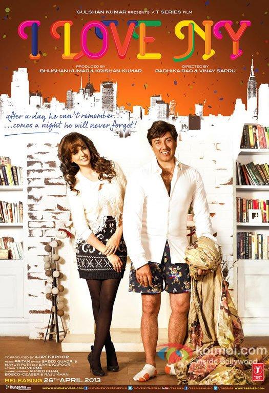 Kangana Ranaut and Sunny Deol starrer I Love NY Movie First Look Poster