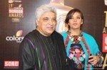 Javed Akhtar, Shabana Azmi at Colors Screen Awards 2013