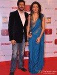 Kabir Khan And Mini Mathurt At 'Stardust Awards 2013'