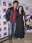 Kartik Tiwari And Nushrat Bharucha At Music Launch of film 'Akaash Vani' Pic 3