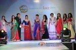 Krystal D'souza, Divyanka Tripathi, Sara Khan, Sana Khan, Ragini Khanna At Launch of Telly Calendar 2013