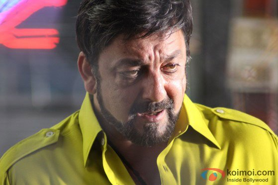 Sanjay Dutt in a still from Zanjeer Movie