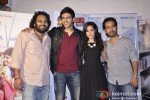 Luv Ranjan, Kartik Tiwari, Nushrat Bharucha, Abhishek Pathak At Music Launch of film 'Akaash Vani' Pic 1
