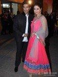 Manish Malhotra And Urmila Matondkar At Walk The Red Carpet Of Filmfare Awards 2013