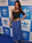 Nauheed Cyrusi at a party hosted for him by Adidas Originals