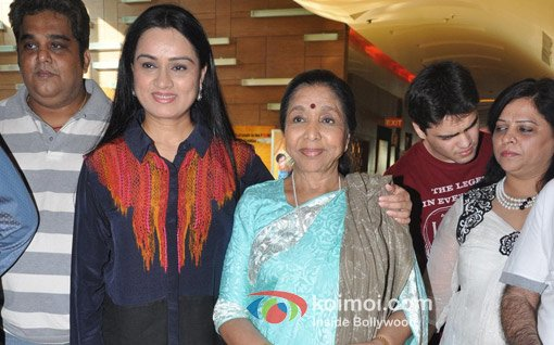 Padmini Kolhapure, Asha Bhosle at 'Mai' First Look Launch