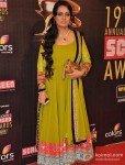 Padmini Kolhapure at Colors Screen Awards 2013