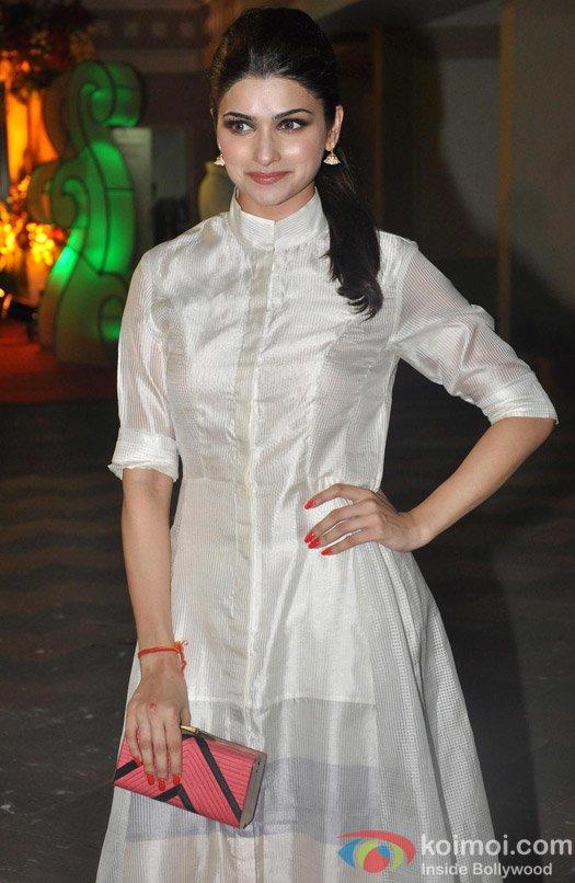 Prachi Desai at Sanjay Dutt's Mata Ki Chauki