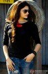 Prachi Desai on the sets of I Me Aur Main