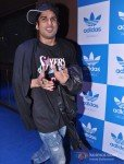 Prateik Babbar at a party hosted for him by Adidas Originals