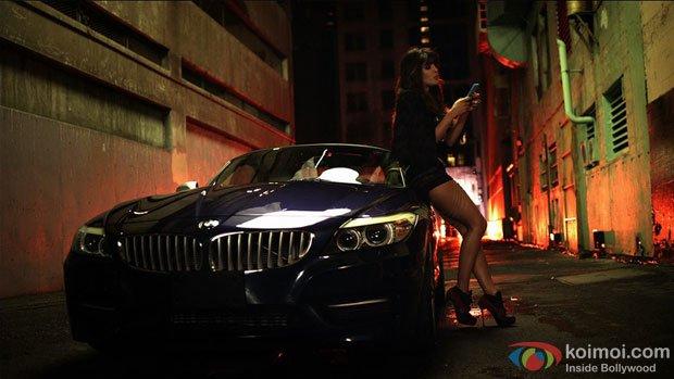 Priyanka Chopra in a still from In My City ft. will.i.am song