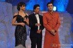 Priyanka Chopra, Shahrukh Khan, Ranbir Kapoor at Colors Screen Awards 2013