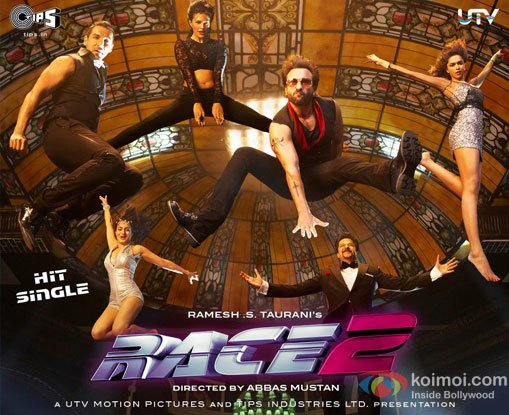 Race 2 Movie Poster