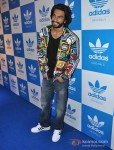 Ranveer Singh at a party hosted for him by Adidas Originals