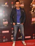 Rohit Roy at Colors Screen Awards 2013