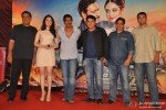 Ronnie Screwvala, Tamannaah, Ajay Devgn, Sajid Khan, Vashu Bhagnani and Siddharth Roy Kapoor at 'Himmatwala' Trailer Launch