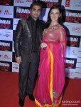 Sachiin Joshi And Urvashi Sharma at 'Mumbai Mirror' Premiere