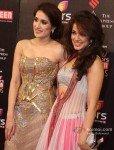 Sagarika Ghatge And Vidya Malvade at Colors Screen Awards 2013