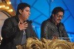 Sajid Khan And Ajay Devgn at Mumbai Police Show 'Umang' 2013