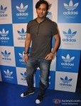 Salim Merchant at a party hosted for him by Adidas Originals